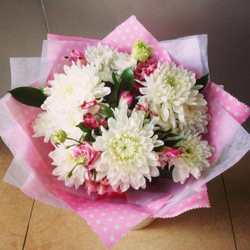 №92 букет с хризантемой